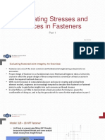 PADT ANSYS Fastener Simulation Part1