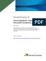 Microsoft Dynamics AX 2009 documentation resources.pdf