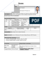 Ashutosh Pandey Resume