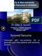 Synovial Sarcoma in children