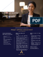 RMM-0073 Male' Office Assistance