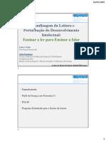Leitura e PDI Português PEN