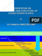 Execution of hydro power plant _PLANNING AND OPERATION