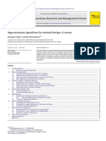 approximation-algorithms-for-network-design-a-survey