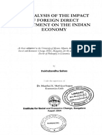 Analysis of the impact of foreign direct investment on the Indian economy.pdf