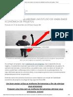 Aprenda como elaborar um estudo de viabilidade econômica de projetos - Portal