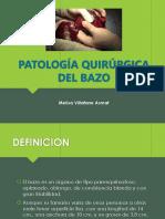 Patologia quirurgica del bazo.pptx