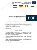 development methods and techniques social skills - greece -  kaloneri - mikrokastro