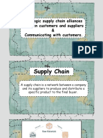 Strategic Supply Chain Alliances Between Customers and Suppliers