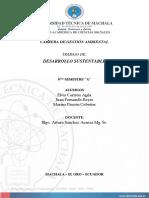 Informe Escenarios de La Sustentabilidad-Las Palmeras