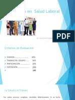 Enf. en Salud Laboral