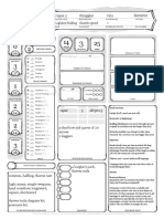 Rogue Character D&D 5th Edition