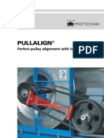 Pulley alignment