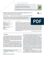 Synthesis and Characterization of Jatrop