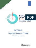 Informe Ideograma sobre la Convención Marco de las Naciones Unidas sobre Cambio Climático