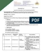 STTP Report