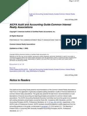 Aicpa Aag Cir   Financial Accounting Standards Board   Generally