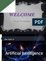 Artificial intiligence PPT