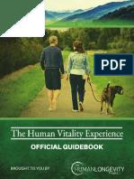 Human Longevity Project Vitality Experience Guidebook 2