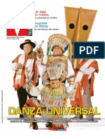 Patrimonio Danza Tijeras Huaconada