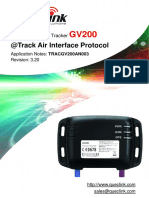 GV200 @Track Air Interface Protocol V3.20