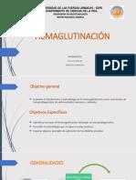 hemaglutinacion