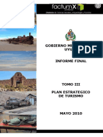 Tomo III Plan Estrategico de Turismo