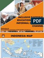 Hasyim Asy'ari - Inclusive Electoral Education Through Informal Education Channel -- KPU (t.t.)