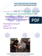 CIMT Presentation in Work Shop