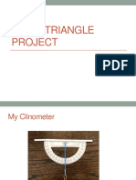 Right Triangle Project
