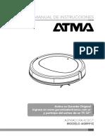 Manual Atma Aspiradora Robot AS8991E