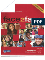 Face 2 Face Elementary 2nd Edition Students Book