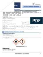 FDS Alcohol Etilico
