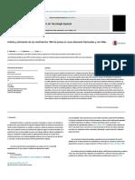 Analysis and Estimation .en.Es