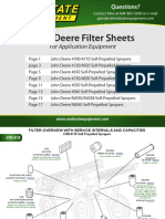 Filters for Application Equipment 2019