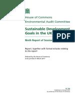 SDGs in the UK