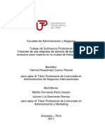 Vannia Cueva Marilia Pezo Jazmin Sarmiento Trabajo de Suficiencia Profesional Titulo Profesional 2017