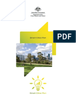 Australie - Plan des villes intelligentes