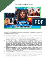 Tipos de Ecumenismo