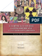 Critica Cult. Latinoamericana y La Inv. EducativaVictorGonzalez