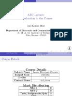 AEC Class Presentation Lec1