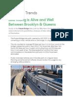 Pulaski Bridge Bikeway Study November 2019 - Bike NY