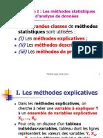 Modélisation méthode explicatives