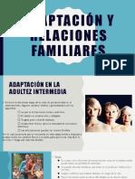 Aceptación y Relaciones Familiares