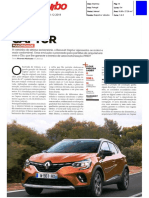 "NOVO RENAULT CAPTUR NA ""TURBO"""
