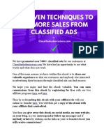 11 Proven Techniques to Get More Sales From Classified Ads 0vh9usrefo
