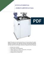 Autoclave Labtech