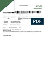 procesal civil cedula de notificacion