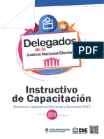 Elecciones. Guía delegados.