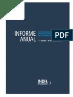 Informe Anual Instituto Nacional de Derechos Humanos 2019